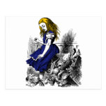 Alice and the Animals Postcard