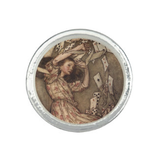 Alice and the Cards by Arthur Rackham Photo Rings