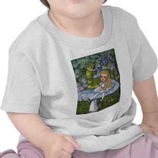 Alice and the Catapillar Tee Shirts