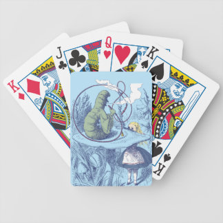 Alice and the Caterpillar Cards Bicycle Playing Cards