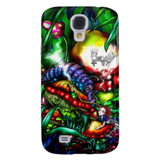 Alice and the Caterpillar Galaxy S4 Case