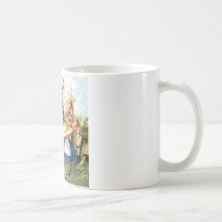 Alice and the Caterpillar in Wonderland Coffee Mug