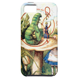 Alice and the Caterpillar in Wonderland iPhone 5 Cover