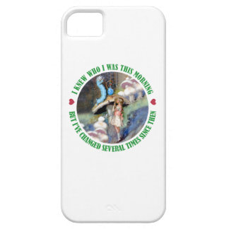 Alice and the Caterpillar In Wonderland iPhone SE/5/5s Case
