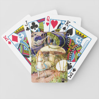 Alice and the Caterpillar in Wonderland Deck Of Cards