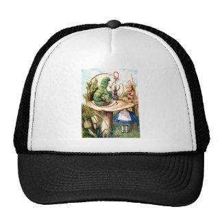 Alice and the Caterpillar in Wonderland Trucker Hat