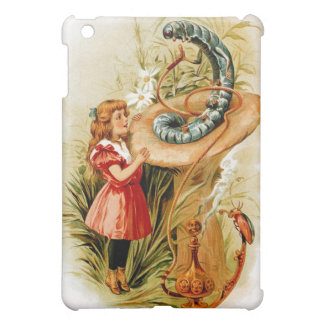 Alice and the Caterpillar iPad Case