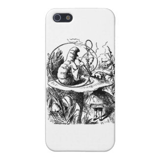 Alice and the Caterpillar iPhone 5 Cases