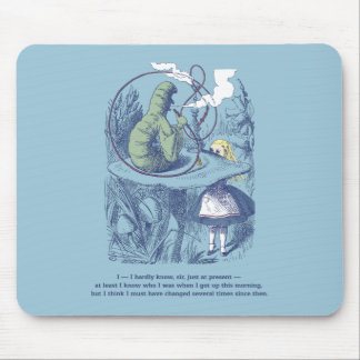 Alice and the Caterpillar Mousepad