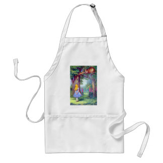 Alice and the Cheshire Cat Adult Apron