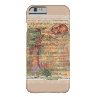Alice and the cheshire cat barely there iPhone 6 case
