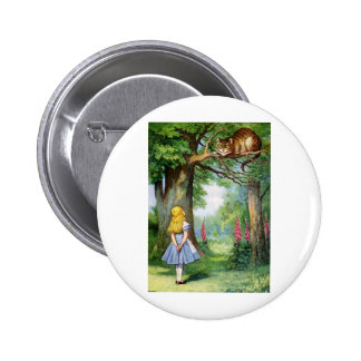 ALICE AND THE CHESHIRE CAT PINS