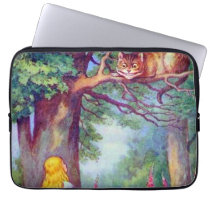 Alice and the Cheshire Cat Electronics Bag