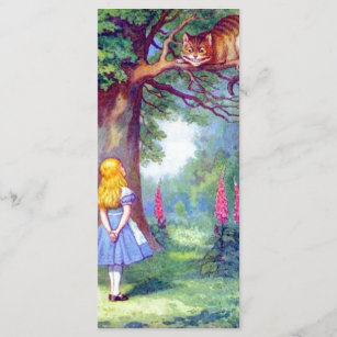 Alice and the Cheshire Cat Full Color