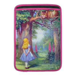 Alice and the Cheshire Cat Full Color Sleeve For MacBook Air