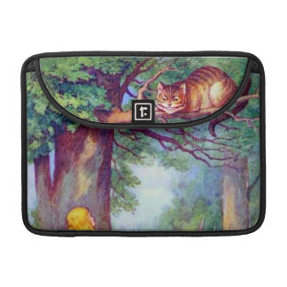 Alice and the Cheshire Cat Full Color Sleeves For MacBook Pro