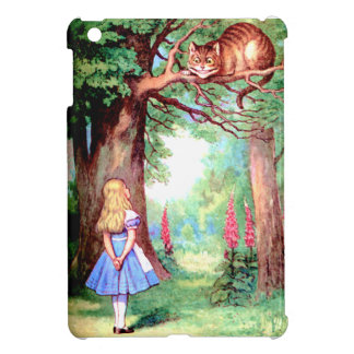 Alice and The Cheshire Cat in Wonderland Case For The iPad Mini