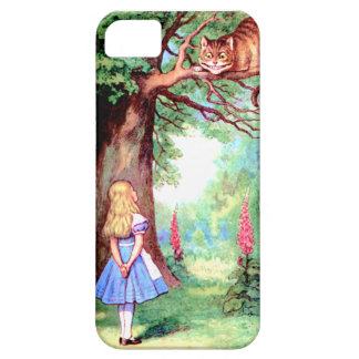 Alice and The Cheshire Cat in Wonderland iPhone SE/5/5s Case
