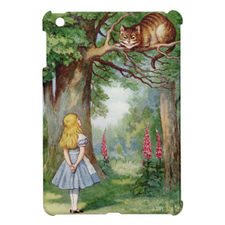 Alice and the Cheshire Cat Case For The iPad Mini