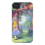Alice and the Cheshire Cat iPhone 4 Case