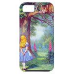 Alice and the Cheshire Cat iPhone 5 Cover
