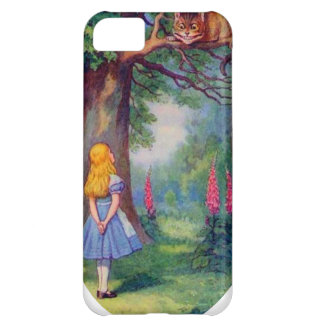 Alice and the Cheshire Cat iPhone 5C Cases