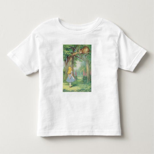 Alice and the Cheshire Cat Toddler T-shirt