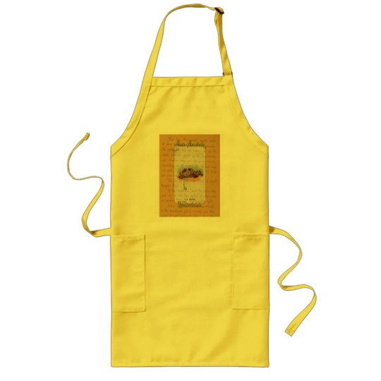 Alice and The Crabs Long Apron
