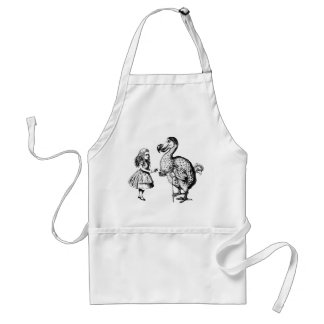 Alice and the Dodo Adult Apron