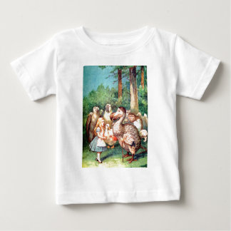 Alice and the Dodo Bird at the Caucus Race Baby T-Shirt