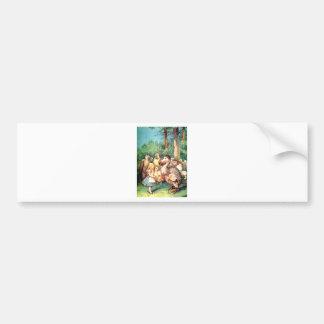 Alice and The Dodo Bird in Wonderland Bumper Stickers