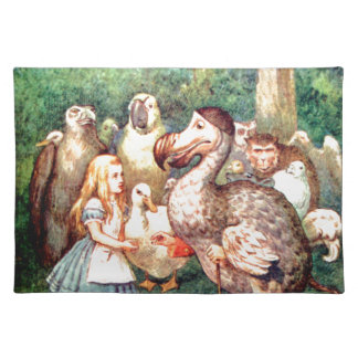 Alice and The Dodo Bird in Wonderland Placemat
