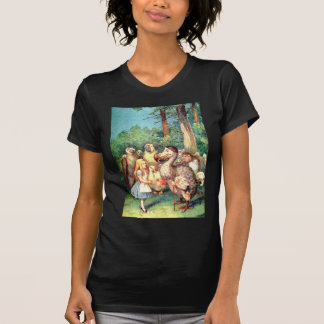 Alice and The Dodo Bird in Wonderland T-Shirt