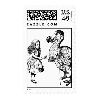 Alice and the Dodo Postage