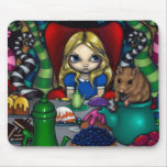 """""""Alice and the Dormouse"""" Mousepad"""