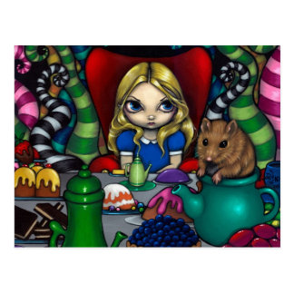 """""""Alice and the Dormouse"""" Postcard"""