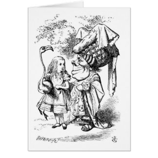 Alice and the Duchess Card