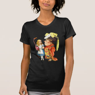 Alice and The Duchess Play Flamingo Croquet Tshirts