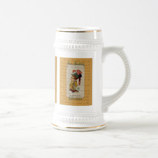 Alice and The Duchess Smiling Beer Stein