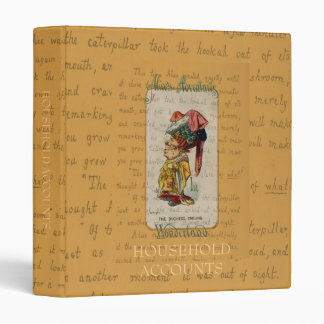 Alice and The Duchess Smiling Vinyl Binder