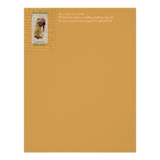 Alice and The Duchess Smiling Letterhead