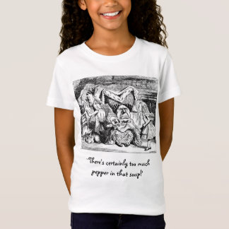 Alice and the Duchess, the Cook & the Cheshire Cat T-Shirt