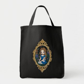 Alice and the Flowers BAG - Alice in Wonderland bag
