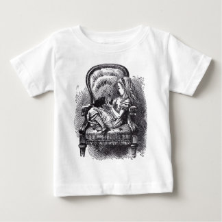 Alice and the Kitten Baby T-Shirt
