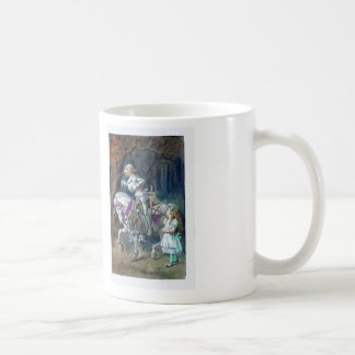 Alice and the Knight Coffee Mug