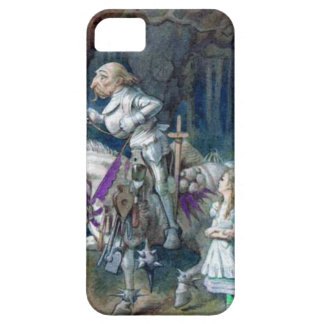 """Alice and the Knight""  Iphone 5 Cover"