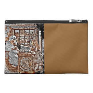 Alice and the Knitting Sheep Travel Accessory Bag