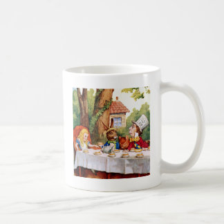 Alice and the Mad Hatter's Tea Party in Wonderland Mugs