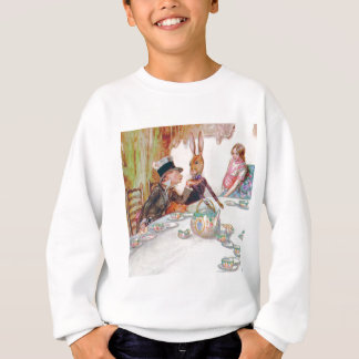 Alice and the Mad Hatter's Tea Party Sweatshirt