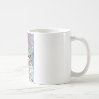 Alice and the Mouse Swimmimg in the Pool of Tears Classic White Coffee Mug